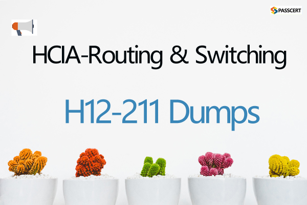 H12-211 HCIA-Routing & Switching Dumps