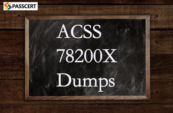 Passcert Avaya ACSS 78200X dumps