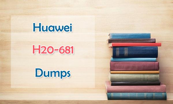 Huawei H20-681 Dumps
