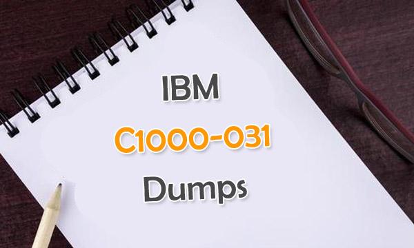 IBM C1000-031 Dumps