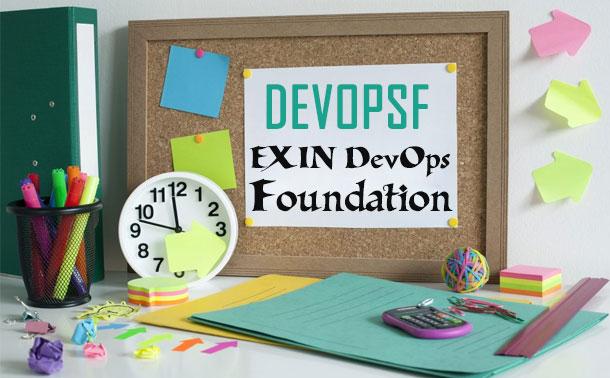 DEVOPSF EXIN DevOps Foundation