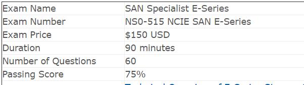 NetApp NS0-515 Exam Overview: