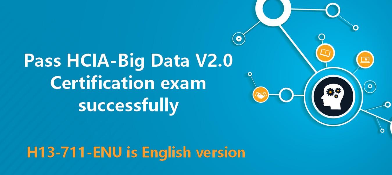 HCIA-Big Data V2.0 Certification Exam Preparation