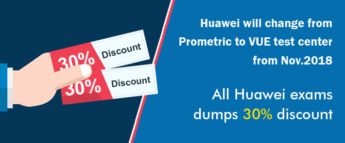 Huawei change from prometirc to VUE test center