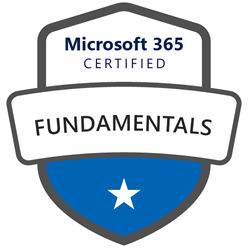 Microsoft 365 Certified Fundamentals Certification