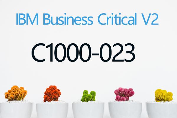 C1000-023 IBM Business Critical V2